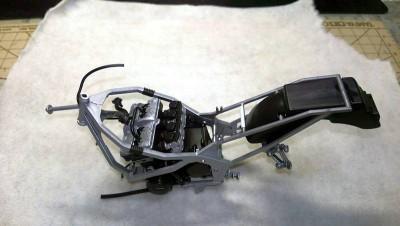 タミヤ1/12カワサキGPZ400R