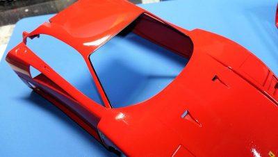 タミヤ1/24フェラーリF40
