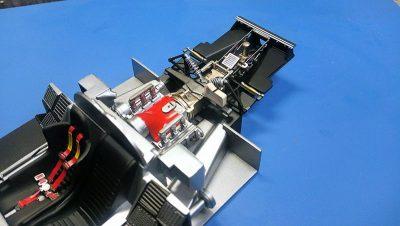 タミヤ1/24ポルシェ956 エンジン