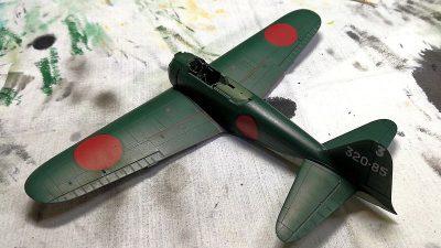 タミヤ1/72三菱零式艦上戦闘機五二型