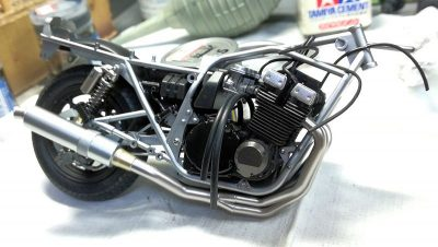 タミヤ1/12スズキGSX1100Sカタナ カスタムチューン