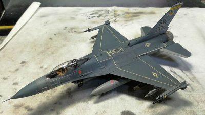 ハセガワ1/72 F-16Cファイティングファルコン