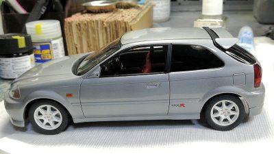フジミ1/24ホンダシビックタイプR EK9