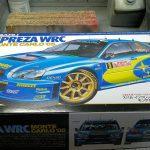 タミヤ1/24 スバルインプレッサ WRC モンテカルロ