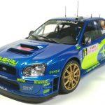 タミヤ1/24 スバルインプレッサ WRC モンテカルロ'05 その8