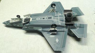 ハセガワ1/72 F-35ライトニングII(B型)U.S.マリーン