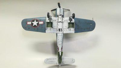 タミヤ1/72 ヴォートF4U-1バードケージコルセア