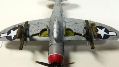 """タミヤ1/72 リパブリックP-47Dサンダーボルト""""レイザーバック"""""""